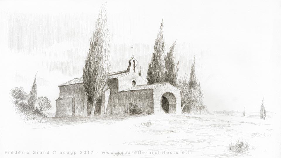 Chapelle St-Sixte - EYGALIERES