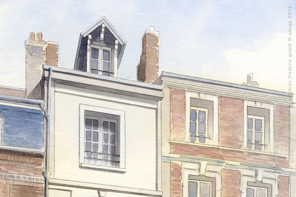 Histoire et Patrimoine immobilier Lemonnier Architecte rénovation logements Dieppe