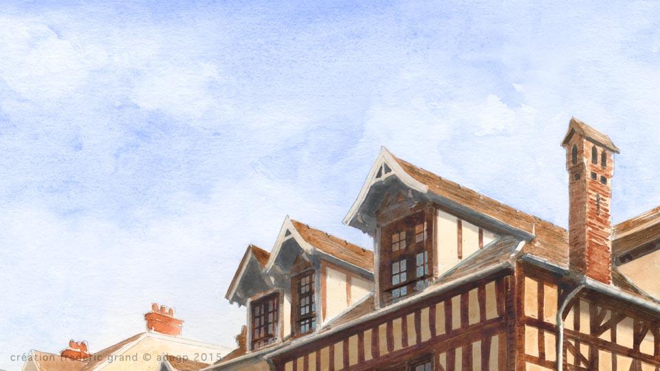 Histoire et Patrimoine immobilier Monchecourt Architecte rénovation logements Moret-sur-Loing