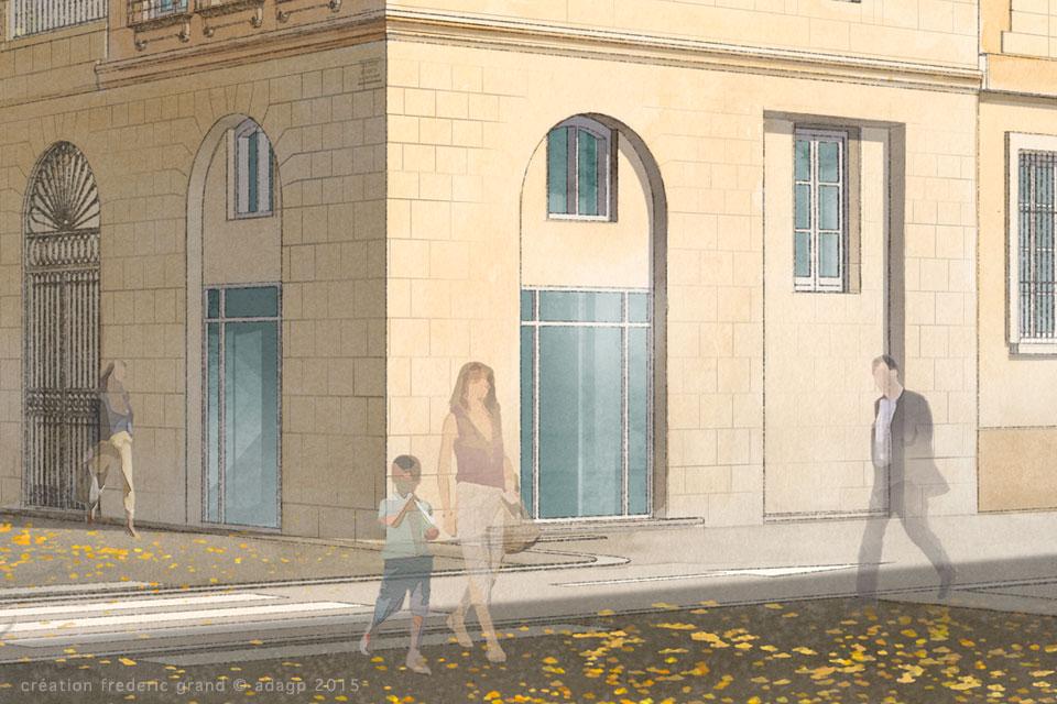Histoire et Patrimoine immobilier NDA Architectes rénovation logements gambetta Nîmes