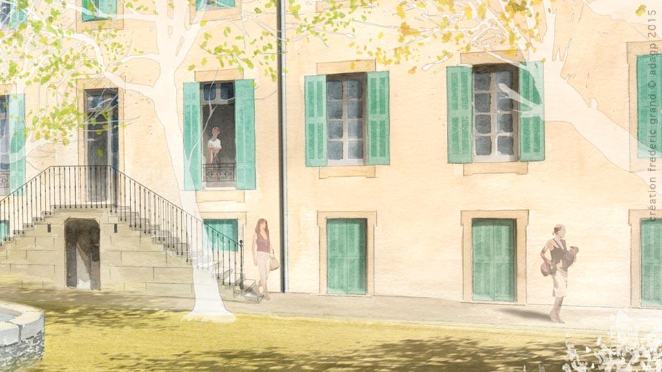 Histoire et Patrimoine immobilier NDA Architectes rénovation logements pasteur Nîmes
