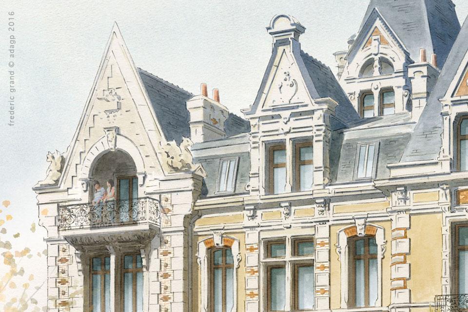 Restauration de la Folie Guillemot et son annexe (XIXe s..) - RENNES (35)