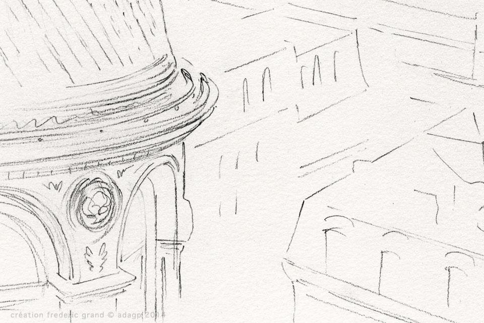 Le Printemps Haussmann événementiel étude vitrines de Noël 2014 Paris