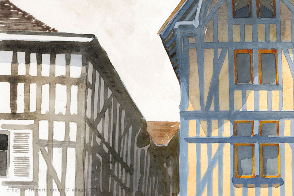 particulier rénovation architecture colombage zola Troyes