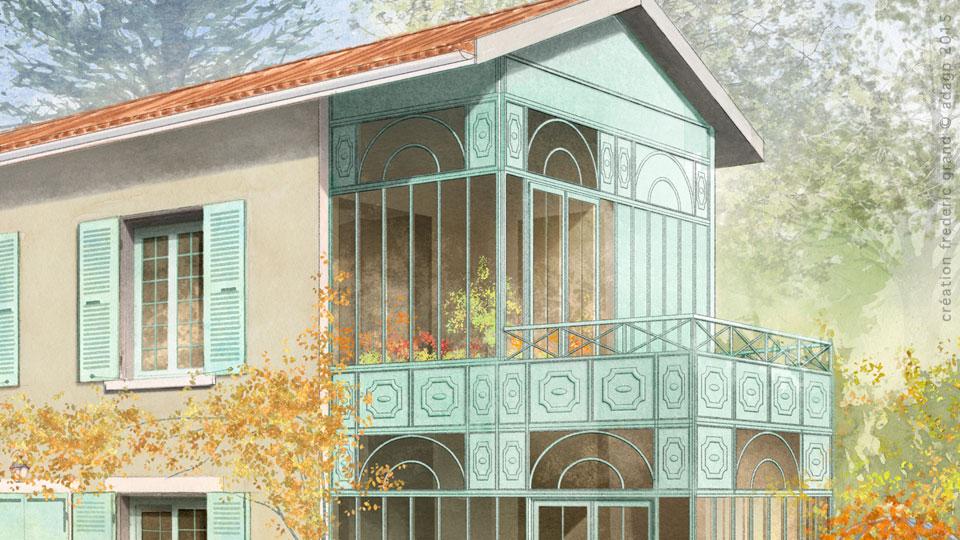 particulier Tjarchi Architectes extension résidence m Lyon