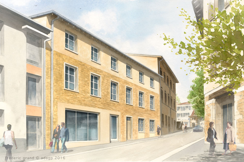 Rénovation de logements rue de Trèves Pâques - COLLONGES-AU-MONT-D'OR (69)